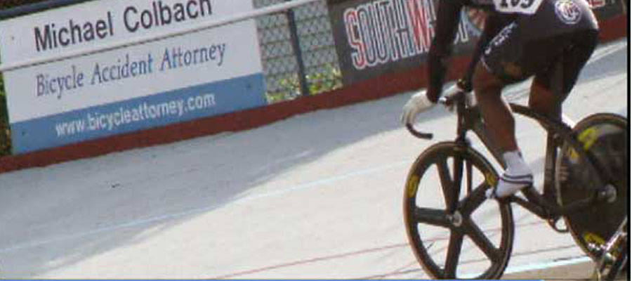 Portland bike accident attorney alpenrose velodrome - causes I support.