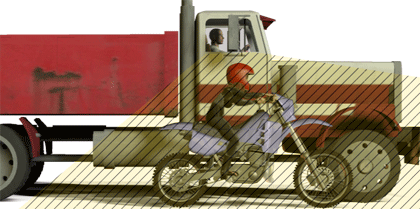 Portland motorcycle accident attorney tips for staying safe riding around large trucks